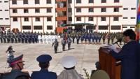 Bolivya'da subaylara emperyalizmle mücadele okulu açıldı