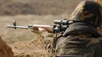 Ermeni askerlerin açtığı ateş sonucu Azeri bir asker hayatını kaybetti