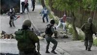 Kalkiliya'da ve Tulkerem'in Batısında Filistinlilerle Siyonist Askerler Çatıştı