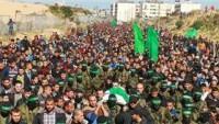 Bugün Batı Yaka'da da Gazze'de ki Şehitlerin Cenaze Törenleri Vardı
