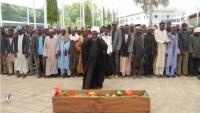 Nijerya Hizbullahı mensuplarından şehid olan Hüseyin Ebu Bekir, toprağa verildi