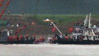 Çin'de batan gemide ölü sayısı 396'ya çıktı