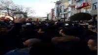 Kudüs'e Sahip Çıkma Gösterisine İstanbulda Onbinlerce Kişi Katıldı