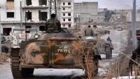 Suriye medyası: Doğu Halep'teki militanlar orduyla teslim olma görüşmeleri yapıyor