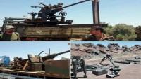 Busra el Şam'da Teröristlerin Suriye Ordusuna Silah Teslimi Devam Ediyor