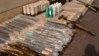 Deyrezzor'da IŞİD'e ait Batı yapımı silahlar ele geçirildi
