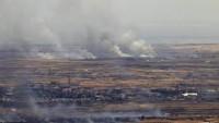 AllahuEkber! Suriye Ordusu Yanlısı Mücahidler Golan Tepelerindeki İsrail Hedeflerini Füzelerle Vurdu. İsrail Topraklarında Sirenler Çalıyor