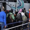 Duma kentinde ateşkes sağlandığından bu yana 2200 terörist bu kenti aileleri ile birlikte terketti