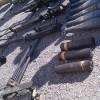 Duma'da teröristlere ait çok sayıda silah ve mühimmat bulundu