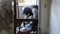 Duma'da sahte kimyasal saldırı görüntülerini çektiler