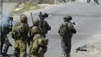 El-Halil'in Doğu Vadisi'ndeki Sair Beldesinde Siyonistlerle Şiddetli Çatışmalar