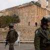 İşgal Yönetimi İbrahim El-Halil Camii'ni Müslümanlara Kapattı 