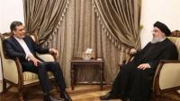Ensari ve Hizbullah Genel Sekreteri görüştü