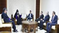 Beşar Esad: Teröristlerle mücadele sonuna kadar sürecek