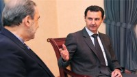 Velayeti, Suriye lideri Esad'la görüştü