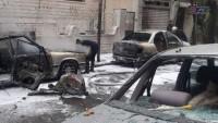 Tekfirci Teröristler Şam ve Dera Kırsalını Füzelerle Vurdu
