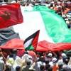 Faslılar Filistin'e Destek Gösterileri Düzenlemeye Devam Ediyor 