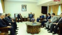 Faysal Mikdat: Filistin Davası Suriye ve Tüm Milletin Merkezi Davasıdır