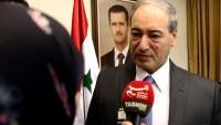 Faysal Mikdat: ABD Suriye'de Yenildi