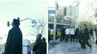 Tahran'da Uçuşa Yasak Bölgeye Giren İHA'ya Ateş Açıldı