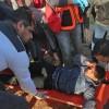 Irkçı İsrail saldırısında onlarca Filistinli yaralandı