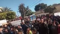 Tunus Halkı Filistin İçin Sokaklarda