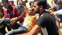 Filistinlilere ateş açan işgal güçleri 4 kişiyi yaraladı.