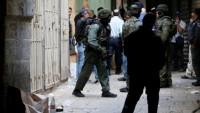 Siyonist İsrail 14 Filistinliyi gözaltına aldı