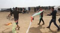 Siyonist Rejim Filistinlilerin Balonları Karşısında Acizdir