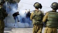 Siyonist İsrail askerleri ile çatışmalarda yüzlerce Filistinli yaralandı