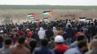 Toprak günü yürüyüşlerinde iki şehit yüzlerce yaralı