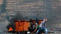 Batı Şeria'nın Eriha Şehrinde Halk Sokaklara Dökülerek İşgalcilerle Çatıştı