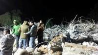 Siyonist İsrail'in Yıktığı Üç Evin Enkazından Şehit Çıkmaması Filistin Halkını Sevindirdi