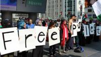 Toronto'da Dünya Kudüs Günü Mitingi