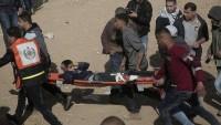 Gazze Direnişinin Şehid Sayısı 13'e Ulaştı. Yaralı Sayısı da 1600'e Ulaştı