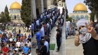 İşgal Rejiminin Engellemelerine Rağmen Filistinliler Mescid-i Aksa'yı Boş Bırakmıyor