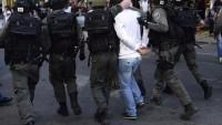 Siyonist İsrail devleti 18 Filistinliyi gözaltına aldı