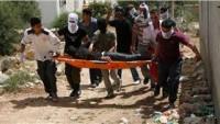 Barışçıl Gösterilere Saldıran Siyonist İşgal Güçleri Aktivistleri Yaraladı