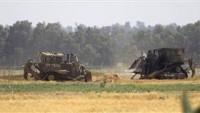İşgal Ordusuna Ait 4 Buldozer Bu Sabah Gazze Şeridi Sınırından İçeri Girdi