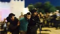 Siyonist İsrail Güçleri Kudüs'te Filistinli Dört Genci Gözaltına Aldı