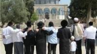 Siyonistler Sabah Erken Saatlerde Mescid-i Aksa'ya Baskın Düzenledi
