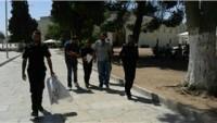 İşgal Güçleri Mescid-i Aksa'nın Avlusunda İki Filistinliyi Gözaltına Aldı
