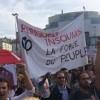 Fransa'da İşçiler Sokağa İnmeye Başladı