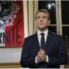Fransa cumhurbaşkanının konuşmasına tepki