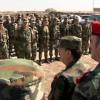 Suriye Savunma Bakanı Freyc, Haseke'de Bir Ordu Birliğini Ziyaret Etti