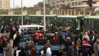 Fua ve Keferya'ya 99 otobüs giriş yaptı