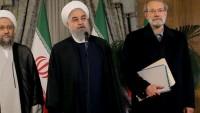 Ruhani: Bölgede huzur, silahla, siyonistler ve Amerikalıların desteklemesiyle sağlanmaz
