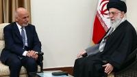 Afganistan cumhurbaşkanı, Seyyid İmam Ali Hamaney'e teşekkürlerini bildirdi