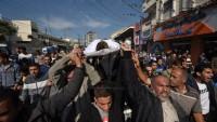 Siyonist İsrail Ordusuna Ait Savaş Uçaklarının Beytlahiya'yı Vurması Sonucu 1 Filistinli Şehid Oldu