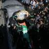 Şehit El-Kassam Komutanı Fukaha'nın Cenazesi Gazze'de Kaldırıldı